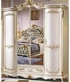 Шкаф 4-ти дверный Руссано (беж)