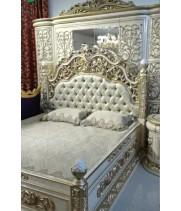 Кровать 1,8м ШЕЙХ (БЕЖ) 903
