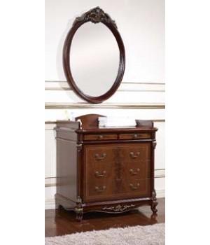 Зеркало настенное Афина орех ( AFINA)