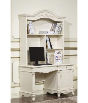 Стол письменный 1,2 м Афина белая с жемчугом ( AFINA)