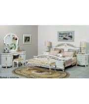 Cпальня Афина белая с жемчугом (AFINA)