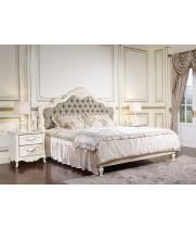 Кровать 1,8*2,0 м с/л ткань цветы, изголовье С Аврора (Aurora)
