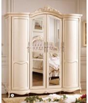 Шкаф 4-х дверный Аврора (Aurora)